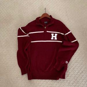 Vintage looking oversized Harvard sweater